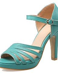 Women's Shoes Heels / Peep Toe / Platform Sandals Wedding / Party & Evening / Dress Black / Green / White / Almond