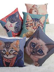 Baolisi Set of 5 Meow Star Series Decorative Pillow /Modern Fashion Couples