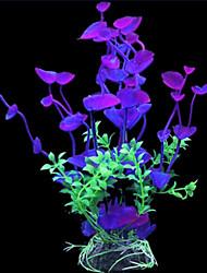 Оформление аквариума Орнаменты / Водное растение Искусственная / Нетоксично и без вкуса Пластик
