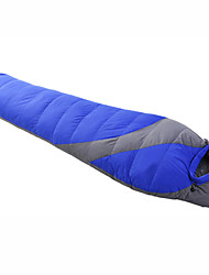 Sleeping Bag Mummy Bag Single -8--28 Duck Down 1500g 215cmX78cm Camping / Traveling / Outdoor / IndoorMoisture Permeability /