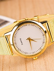 L.WEST Ladies' Diamonds Mesh Belt Quartz Watch