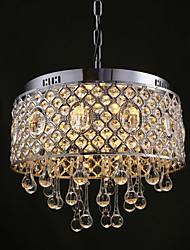 MAX40W Lustre ,  Contemporain Chromé Fonctionnalité for Cristal / Designers MétalSalle de séjour / Chambre à coucher / Salle à manger /