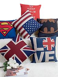 Baolisi Set of 6  British Series Decorative Pillow /Modern Fashion Couples