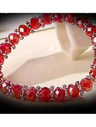 Women's Chain Bracelet Cubic Zirconia Crystal