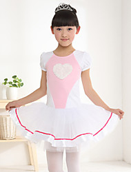 Ballet Dresses Children's Sweet Performance Cotton / Polyester Dance Costumes