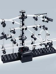 plástico y metal por encima de 6 bloques de construcción de juguete de la novedad