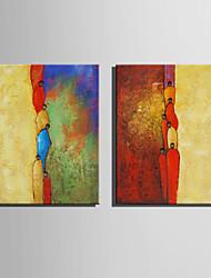 Pintados à mão Pessoas / FantasiaEstilo Europeu 1 Painel Tela Pintura a Óleo For Decoração para casa