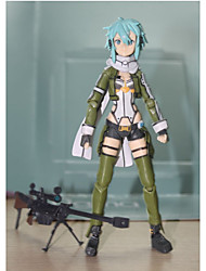 Animation Project Figma Sword Domain 2 Ghost Bullet Movable 1Pcs 20Cm