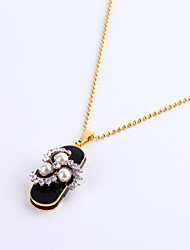 64GB Necklace Pearl Style Jewelry USB 2.0 Rotatable Flash Memory Stick Drive U Disk ZP-05