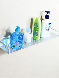 Bathroom Shelf Anodizing Wall Mounted 60*23*18cm Aluminum Contemporary