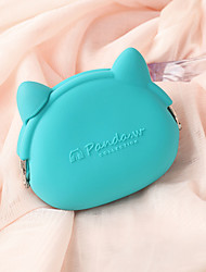 Women Polyester Formal / Casual / Outdoor / Shopping Coin Purse Blue