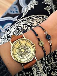 Women's Watches Vintage Compass Watch Travel jewelry Men's Quartz Fashion watch World Map Watch Wanderlust Ladies' Cool Watches Unique Watches