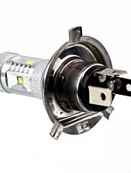 2008-2016 año Plymouth etc h4 del cree 30w llevó niebla del coche de la lámpara de la lámpara de luz de carretera de coche de bajo lámpara