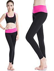 Women Yoga Sports Pants Heigh Elastic Wicking Tights Female Sports Elastic Fitness Running Long Pants