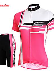 Tasdan Women's Cycling Clothing Cycling Sets  Cycling Jerseys Short sleeve  + Cycling Shorts
