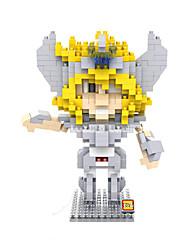 желтый / серый ABS Строительные блоки DIY игрушки