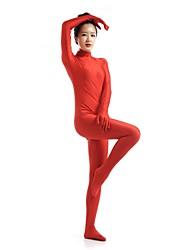 Zentai- paraUnisex-Disfraces Zentai-Licra / Spandex-Rojo-