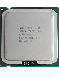 Masse echte Intel Core 2 Duo E8300 2.83ghz 45-Nanometer LGA775 Desktop-CPU-Prozessor