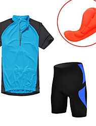 KOSHBIKE/KORAMAN® Cycling Jersey with Shorts Men's Short Sleeve BikeBreathable / Quick Dry / Ultraviolet Resistant / Moisture