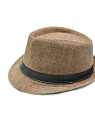 Flax British Gentleman Hat Jazz Hat