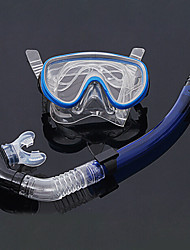 Trocknen Silikon Tauchen Schnorcheln Paket zum Tauchen / Schwimmen (zufällige Farben)