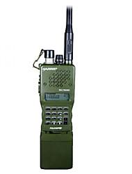prc-152 três anti impermeável à prova de choque de aço dustproof.stainless 6-pin conector de 4800mAh walkie talkie