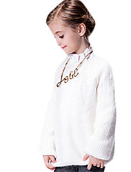 Girl's Sweater & Cardigan,Cotton Winter White