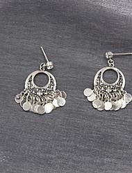Earring Drop Earrings Jewelry Women Wedding / Party / Daily / Casual / Sports Alloy / Rhinestone 1 pair Silver