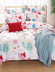 Novelty Polyester 4 Piece Duvet Cover Sets