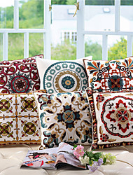 Baolisi Set of 6  Chinese Wind Wool Embroidered Pillow /South East Asian