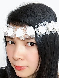 Women's Crystal Resin Headpiece-Wedding Special Occasion Wreaths 1 Piece