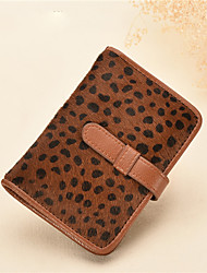 Women Cowhide Formal / Event/Wedding / Outdoor / Office & Career / Professioanl Use / Shopping Card & ID Holder