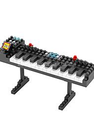 черный / белый ABS Строительные блоки DIY игрушки