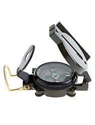 Compassos Militar / Multifunção Trilha / Campismo / Viagem / Exterior metal Verde