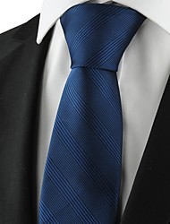 New Striped Blue Navy Mens Tie Suits Necktie Party Wedding Holiday Gift KT1071