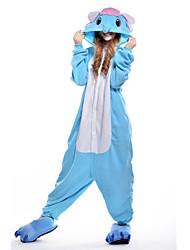 Kigurumi Pijamas nueva Cosplay® Elefante Leotardo/Pijama Mono Festival/Celebración Ropa de Noche de los Animales Halloween Azul Piscina
