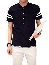 Men's Fashion Leisure Short Sleeve T-shirt