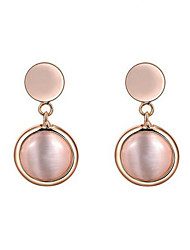 Earrings Set Opal 18K gold Alloy Fashion Drop Jewelry Wedding Party Daily Casual 1 pair