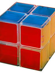 LanLan® Cube velocidade lisa 2*2*2 Velocidade Cubos Mágicos Branco ABS
