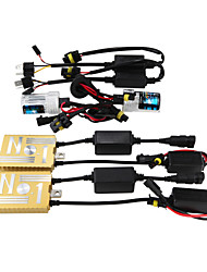 12V55W HID Ballast Decoding Headlight Conversion Kit Bulb H3 3000K 4300K 5000K 6000K 8000K