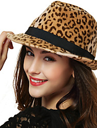 Wool Blend Fedora Hat,Vintage / Party / Work / Casual Spring / Summer / Fall / Winter