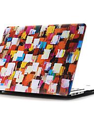 ingekleurde tekening ~ 35 stijl platte behuizing voor MacBook Air 11 '' / 13 ''