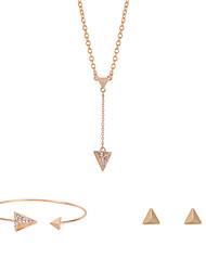 Freizeit-Damen-Halskette / Ohrring / Armband(Legierung)
