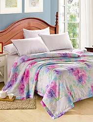 yuxin®tencel modal colcha de verão impressão reativa simples ou dupla fresco no verão fresco colcha de cama conjunto quilt