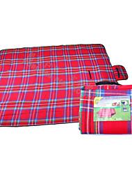 Camping Polster / Picknick-Polster(Grün / Rot) -Feuchtigkeitsundurchlässig / Anti-Insekten / Schweißtransportierend / rechteckig-PVC /