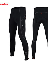 TASDAN Pantalones de Ciclismo Hombres Bicicleta Pantalones/Sobrepantalón Medias/Mallas LargasTranspirable Secado rápido Bandas