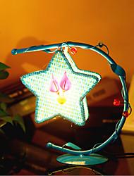 lampes d'éclairage lampe lampe de chevet de chambre pentagramme créatifs de cadeau européen de la personnalité romantique (couleur