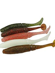 """12 pcs Isco Suave / Amostras moles Cores Sortidas 8 g/5/16 Onça,100 mm/4"""" polegada,Plástico SuaveRotação / Pesca de Água Doce / Pesca"""