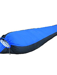 1500g Duck Down Polyester Lining Single Mummy Bag for Camping and Hiking