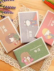 1PC Youth'S Sayings Glue Set Of This Portable Jotter